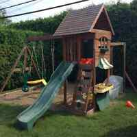 $500 negotiable - swing set, playground for children