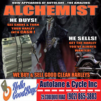 WE BUY GOOD CLEAN Harley Davidsons! CALL US TODAY! Bedford Halifax Preview