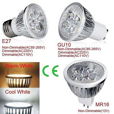 Led-spot-licht (1PCS Dimable E27 GU10 MR16 12W LED Spot Licht Lampen Lampe Cool/weiss groß)