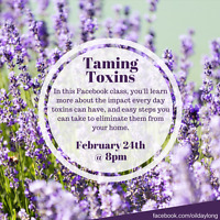 Taming Toxins - Free Facebook Class February 24th