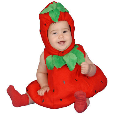 Baby Strawberry Costume Set Fancy Dress For Babies](Strawberry Costume For Child)