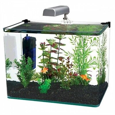 Penn-Plax RADIUS Aquarium Kit - 10 Gallon WW113K Aquarium NEW