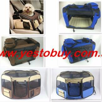 Pet Soft Crate Dog Cat Carrier Travel Cage Playpen Enclosure run