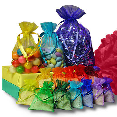 Wholesale Organza Jewellery Packing Pouches Wedding Party Favour Candy Gift - Wholesale Wedding