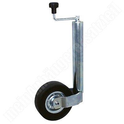 Stützrad Bugrad 60mm für 300kg Stützlast Schwerlaststützrad für Pkw Anhänger