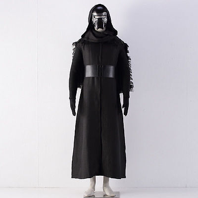 Kylo Ren US SELLER Adult Force Awakens Costume Sith Dark Jedi Cosplay Wars Star - Jedi Costumes Adults
