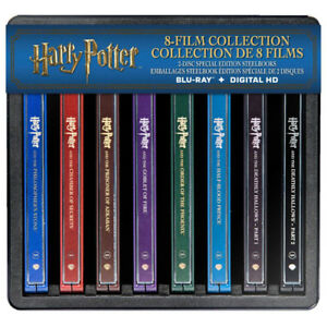 Harry Potter Collection Steelbook  NEW