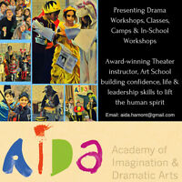 Like Dramatic Arts & WORKING WITH KIDS? Need community hours?