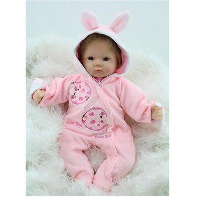 Realistic Handmade Reborn Baby Doll Girl Newborn Lifelike Soft Vinyl Silicone