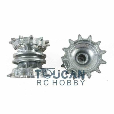 Sprocket Full Metal Driviing Wheels 1/16 Scale HengLong T90 RC Tank 3938 for sale  Bell