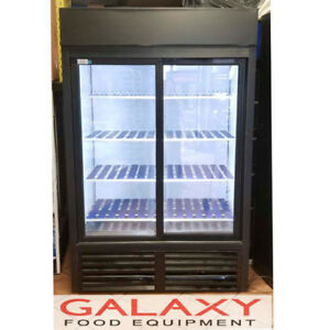 COMMERCIAL SLIDING GLASS 2 DOOR COOLERS / FRIDGES
