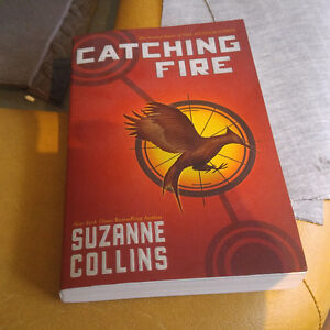 Catching fire 2nd book of the hunger games