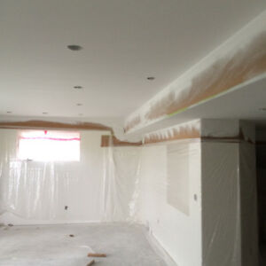Supply/install $1.0/SF Top quality Ceiling Texturing, with a tru