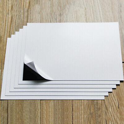 1pc A4 Size White Magnetic Inkjet Print Sheet Soft Rubber Board Flexible