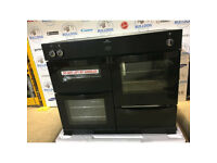 New World Vision 100Ei 100cm Electric Range Cooker - Black