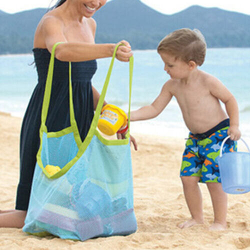 New Extra Large Sand Away Tote Carrying Bag Beach Toys Swimm