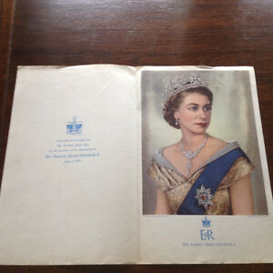 1953 QUEEN ELIZABETH ll CORONATION INSERT IN TORONTO DAILY STAR