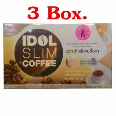 IDOL SLIM COFFEE Diet Coffee The formula for the resistance Low Fat 100%burn fat