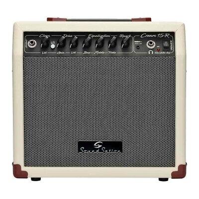 Soundsation CREAM-15R Amplificador Para Guitarra Eléctrica 15W Con Reverb