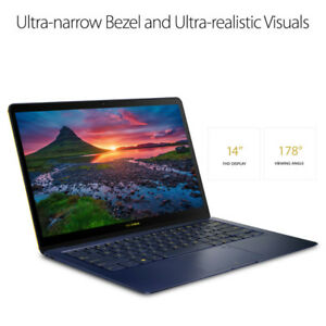 NEW(OPEN BOX)ASUS ZenBook 3 Deluxe UX490UA-XH74-BL WITH WARRANT