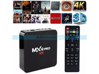Rockchip Kodi Pro TV BOX QuadCore 4K UHD WiFi TV Set Top Box