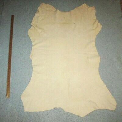 Braintan Suede Deerskin Leather Hide Garments 2 - 3 oz Premium Brain Tan Beading
