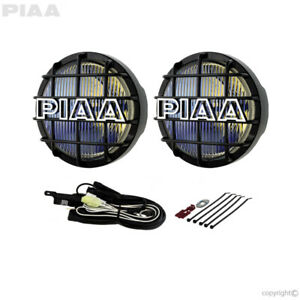 PIAA 6 Inch 85w 520 Ion Yellow Fog Halogen Lamp Kit (#5291)