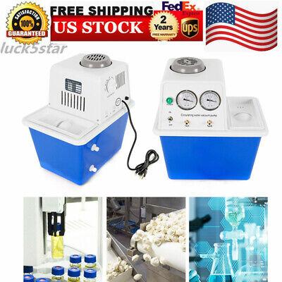 Circulating Water Vacuum Pump Air 15l Max. 0.098mpa Double Tap 60lmin 110v
