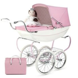 princess dolls pram