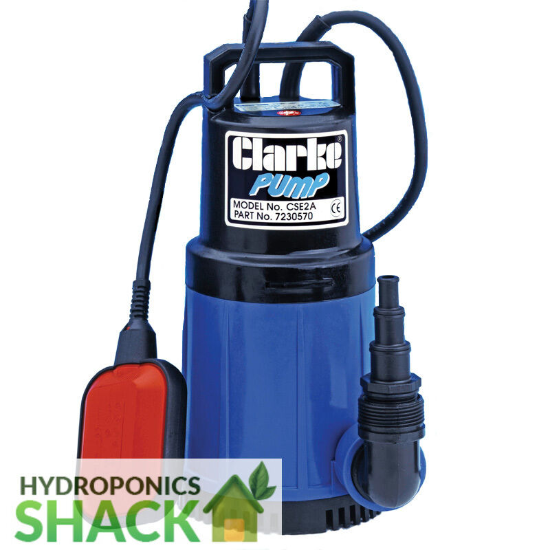 Details about CLARKE Silent Running Submersible Water Pump 750W & 1000W  Hydroponics Aquaponic
