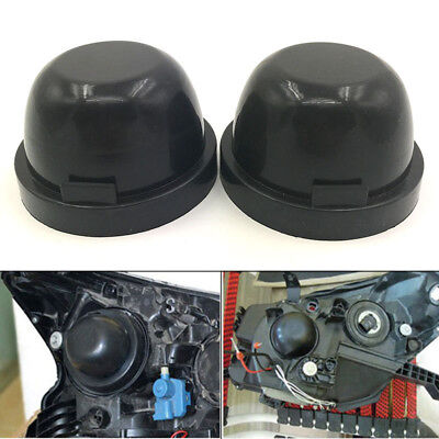 Used, 2x Rubber Headlight Housing Extended Dust Cover Boot Cap for F150 2015 2016 2017 for sale  Shipping to Canada