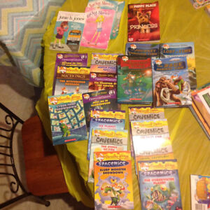 Geronimo Stilton books and others