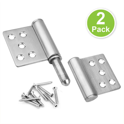 2 Pack 5 ¼×4 inches Lift Off Hinge Flag Hinges, 304 Stainless Steel Heavy Duty