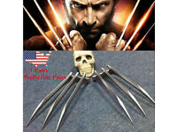 US Avenger 4 Endgame X-Men Wolverin Logan Blade Cosplay Claw Paw Cosplay Props