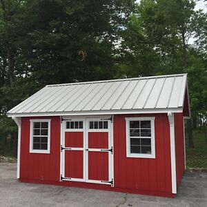 8X12 fully assembled Pine siding and Painted Shed 2899$