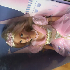 Princess pink Barbie doll mint in box for gift little girl new