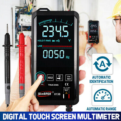 Digital Multimeter Touch Dcac Professional Analog Tester True Rms Multimetro