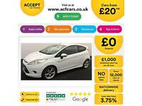 Ford Fiesta 1.6TDCi 2009MY Zetec S FROM £20 PER WEEK !