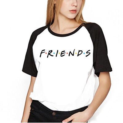 friends tv show t shirt  best friends t-shirt women casual shirt womens