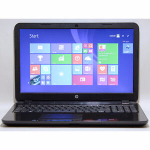 "HP 15-g049ca Laptop AMD 4 Cores HDMI Webcam 15.6"" 4GB RAM 500GB"