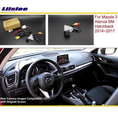 For Mazda 3 BM Hatchback 14 15 16 17 Car Rear View Reverse Parking Camera HD