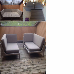 3 piece Outdoor Patio Furniture Set from Ove