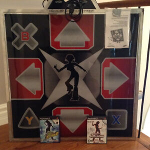 Play Station 2 Dance Revolution 1and 2 with Metal dance mat
