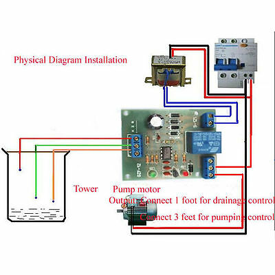 Liquid Level Controller Sensor Module Water Level Detection Sensor Component Oj