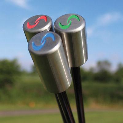 NEW SuperSpeed Golf  Golf Swing Training System 3 Piece Club Set Super (Golf Training Club)