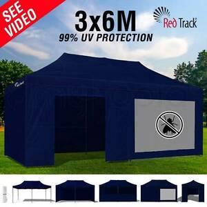 3 x 6 Navy Blue Gazebo Marquee -  Only Used Twice Bossley Park Fairfield Area Preview