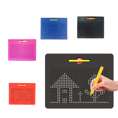 Magnetic Drawing Board Preschool Educational Creative Pad Child Kids Toy Game fw