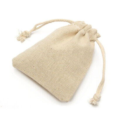 50Pcs Small Linen Pouch Gift Bags For Wedding Party Best Special Gift To