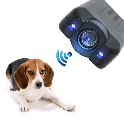 Ultrasonic Anti Bark Stop Barking Aggressive Dog Pet Repeller Training Device US Stop Dog Barking