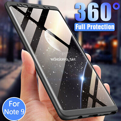 Hard Case Screen Protector - 360° Full Cover+Screen Protector For Samsung Galaxy Note 9 Ultra Slim Hard Case